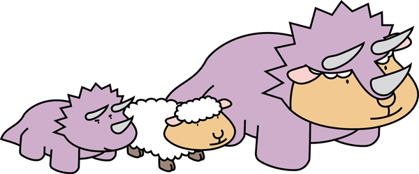 dino + sheep = dinosheep